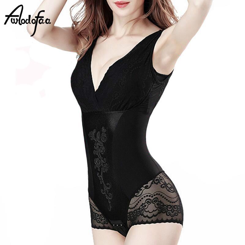 cd49e0e8545 Hot Summer Fashion Body Shaper Bodysuit Sexy Slimming Sheath Butt ...