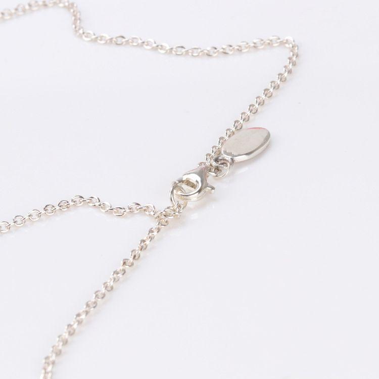 Оптовая женская 60 см S925 стерлингового серебра цепи оригинальный ожерелье Fit Pandora ювелирные изделия подвески подвески ювелирные изделия для женщин