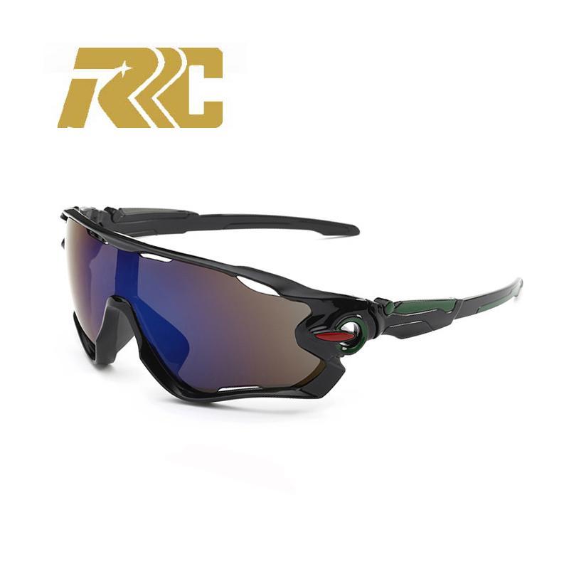 belle couleur prix réduit dernière collection RRC Lunettes de soleil Homme Lunettes de soleil noires Homme Sport Polarisé  UV400 Sport polarisé