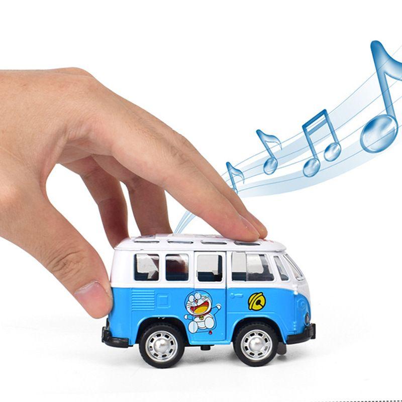 2019 Children S Cartoon Alloy Truck Mini Q Model Mickey Hello Kitty