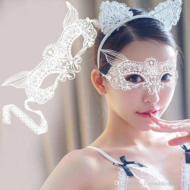 fa41a91a491b Fashion Sexy Lace Eye Mask Venetian Masquerade Ball Party Fancy Dress  Costume Lady Gifts Party Halloween Masks Eye Mask For Party Eye Mask  Halloween From ...