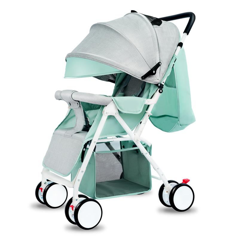 Lightweight Car Seat >> Multi Function Baby Stroller With Car Seat For Newborn Light Weight High Landscape Baby Carriages Can Sit Lie Fold On The Plane