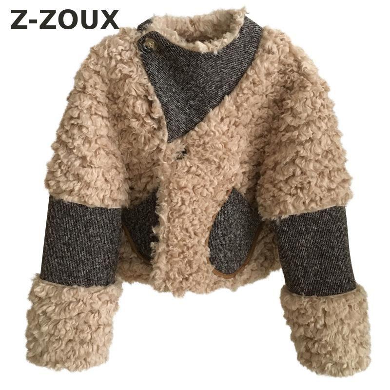 e2a9eb81a46d1 Z-ZOUX Women Coat Warm Faux Fur Coats Women Short Synthetic Fur Coat ...