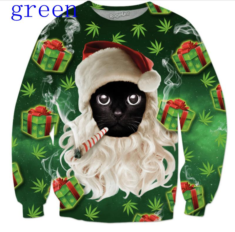 Christmas Cat Sweater.Seoproductname