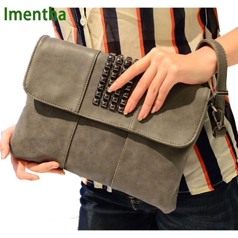 3b12095fe0 Factory Price Day Clutch New Designer Envelope Leather Purse Wallet Casual Womens  Evening Clutch Bags Lady Party Handbag Y18110101 Black Handbag Fashion ...