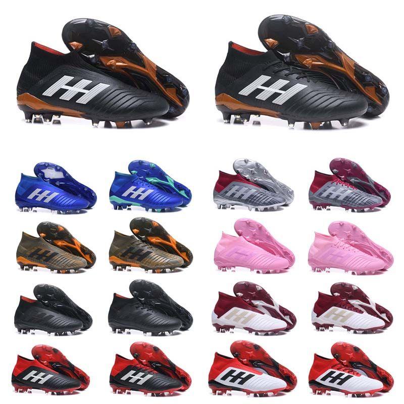 10a09f92ff1 Sale 2018 High Quality Predator 18+ 18.1 FG Soccer Shoes PREDATOR ...