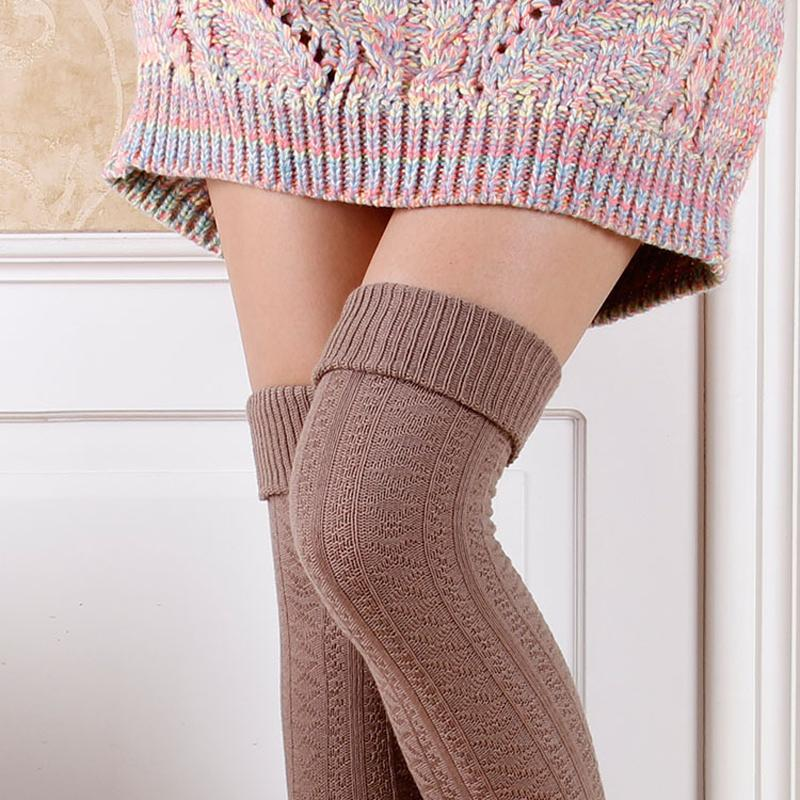 364734a6b 2019 Thigh High Socks Girls Stockings Winter Warm Hosiery Socks Women Sexy  Stocking Medias Stockings Knee High Stocking From Yzlwatchfine