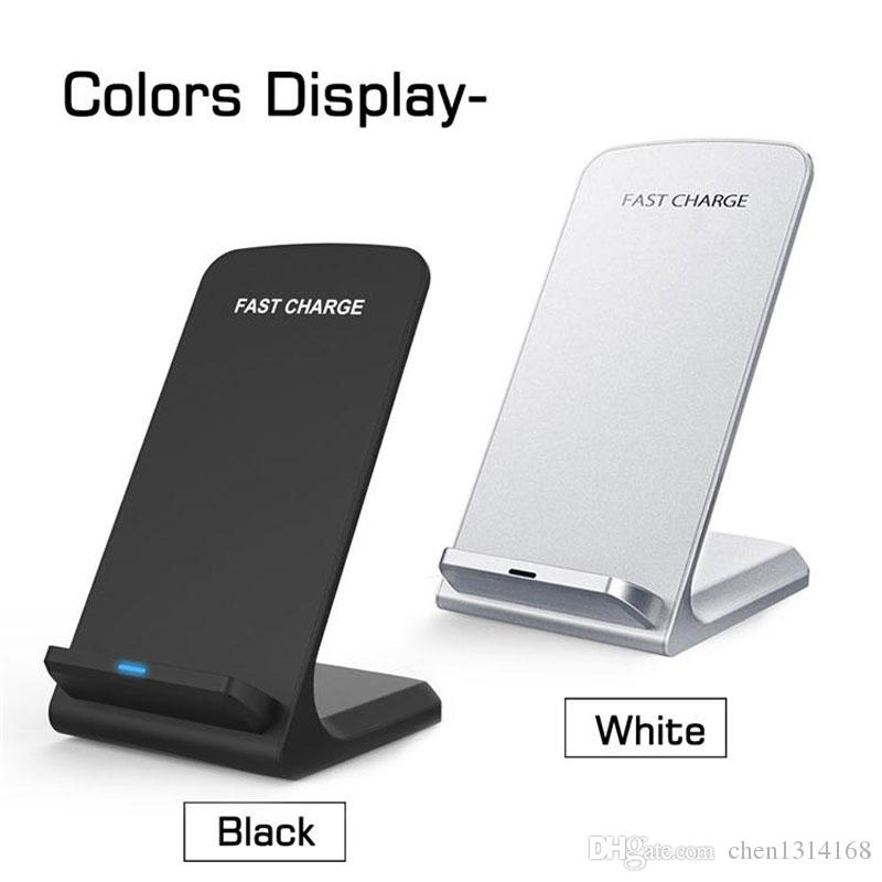 Qi 빠른 무선 충전기 Qualcomm 빠른 충전 2.0 무선 충전기 IPhone 8 8P X 삼성 S9 S8 S8Plus S7 S6 참고 8 770037