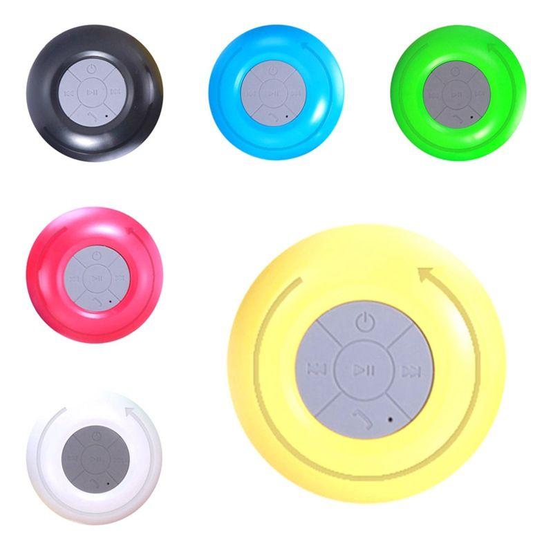 Großhandel Mini Tragbare Wasserdichte Bluetooth Sucker Lautsprecher ...