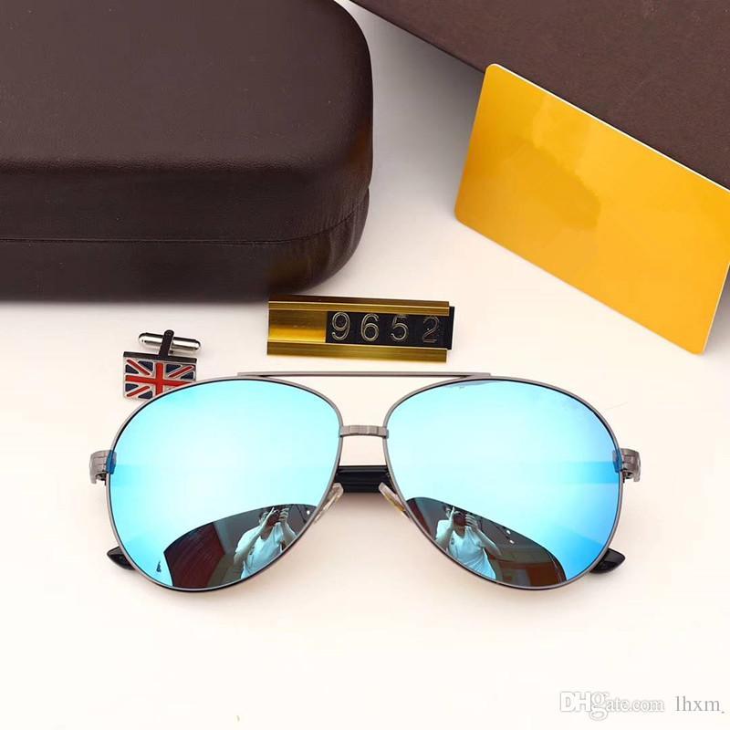 мужские дизайнерские солнцезащитные очки для мужчин ОЧКОВ мужских солнцезащитных очков, мужчин роскошных солнцезащитных очков для женщин конструктора мужских очки люкса очки солнцезащитных очков 9652