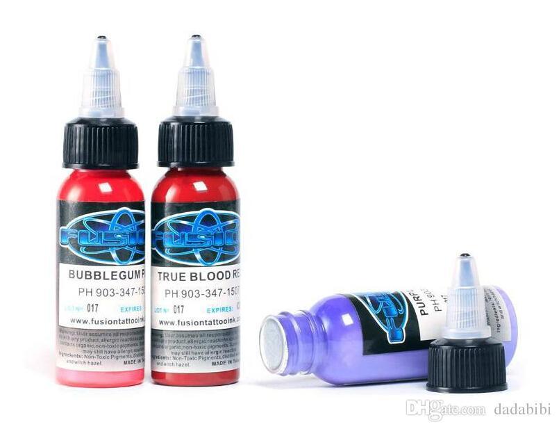 NUOVI ARRIVI Tattoo Ink i di fusione Set 1 oz 30ml / Bottle Tattoo Kit pigmento Spedizione gratuita