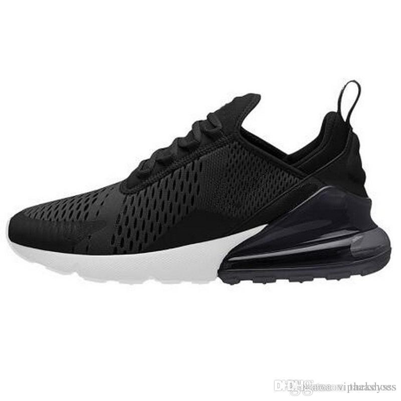 save off 7dd7f 56943 Nike Air Max Off White Adidas Yeezy Supreme Boost Vapormax Vans Nmd Nike  270 New Arrivals Hombre Blanco Negro Triple Negro AH8050 Trainer Sports  Running ...