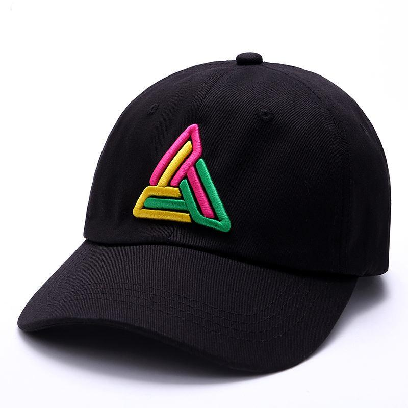 6a47611418986 High Quality Embroidery Baseball Cap Adjustable Men Hats Hip Hop Unisex  Pyramid Baseball Caps Casual Black White Red Diamond Couples Hat Hats For  Sale ...