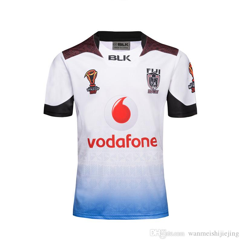 Fiji Rugby Jersey 2017 World Cup Fiji Rugby Jersey New Seanson ... 8a8936904