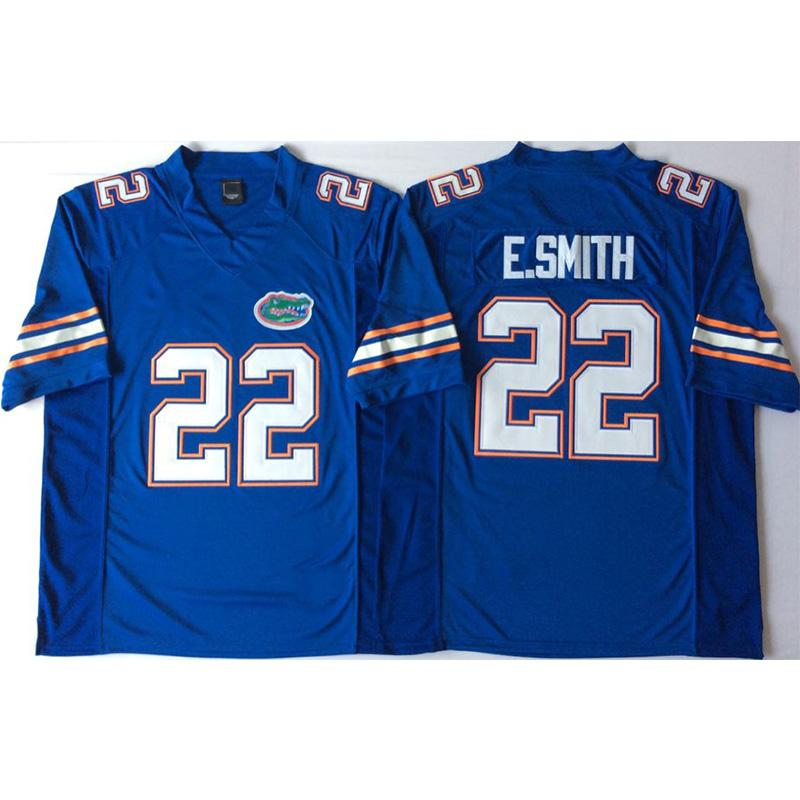 d088cf6ab9b Mens Florida Gators Emmitt Smith Stitched Name&Number American ...