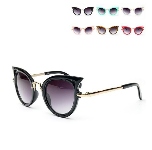 c64d956e7787a Fashion Baby Girls Brand Kids Sunglasses Children Cat Eye Sun Glasses Boys  UV400 Cute Eyewear Infant Gafas Shades Goggles Prescription Sunglasses  Glasses ...