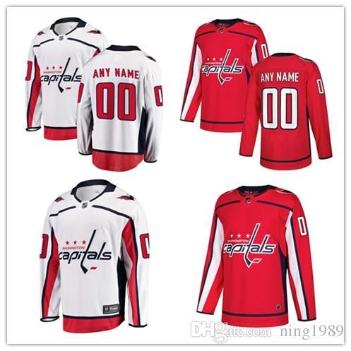 2019 2018 Washington Capitals Hockey Jerseys Custom Men S Women Youth  Personalized Name And Number Home White Black Kids Girls Hockey Jerseys  From Ning1989 10ba154f8