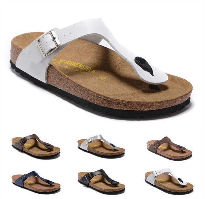 ed6b12720c5752 Wholesale New Summer Women Luxury Beach Cork Slippers Casual Sandals ...