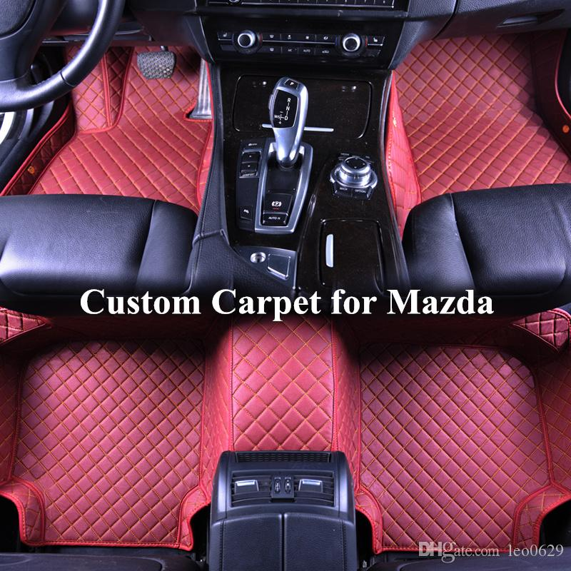 Wholesale Custom Car Floor Mats For Mazda Cx 5 Cx7 Cx 9 Mx 5 3 5