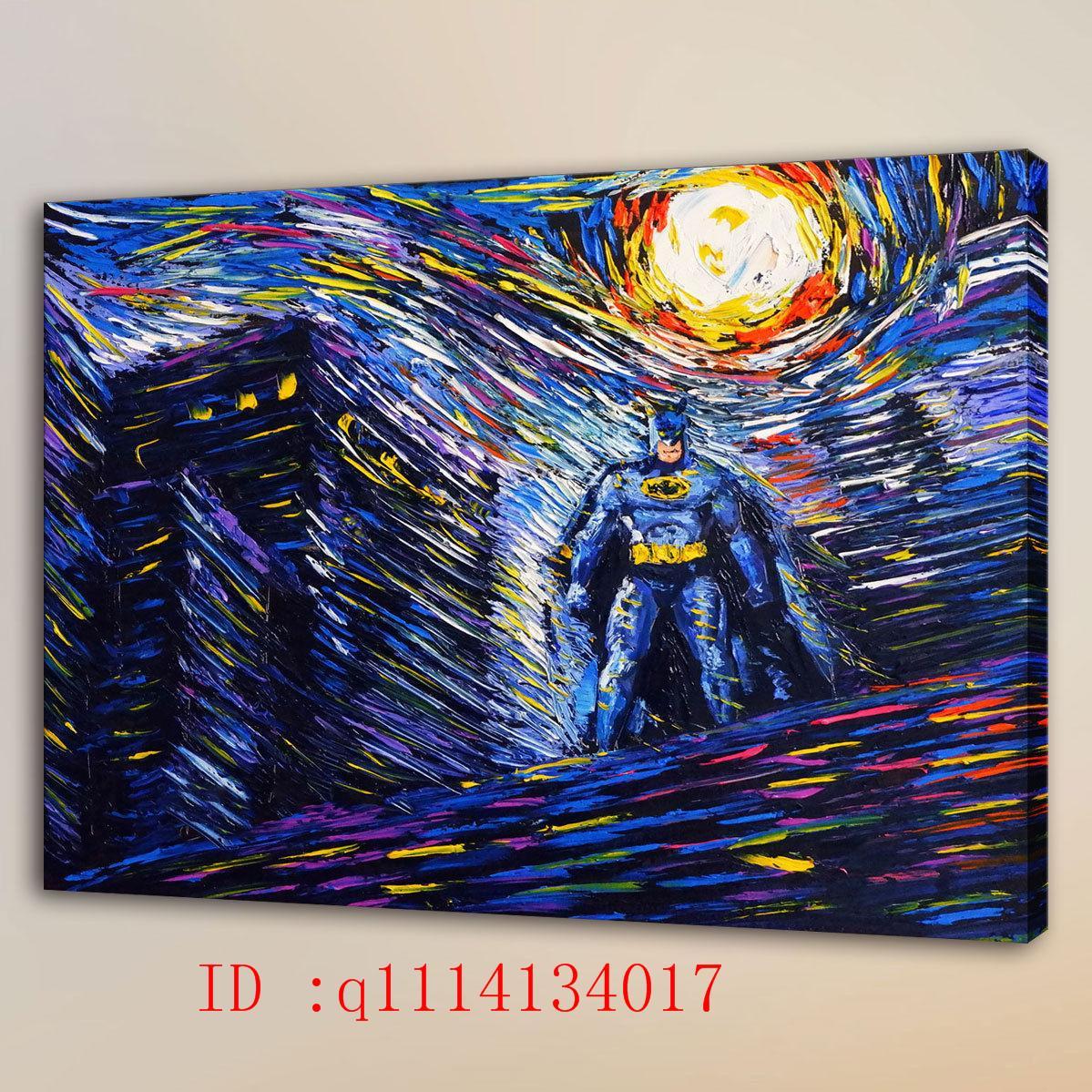 Großhandel Van Gogh Superhero Hd Leinwand Wandkunst Ölgemälde Home ...