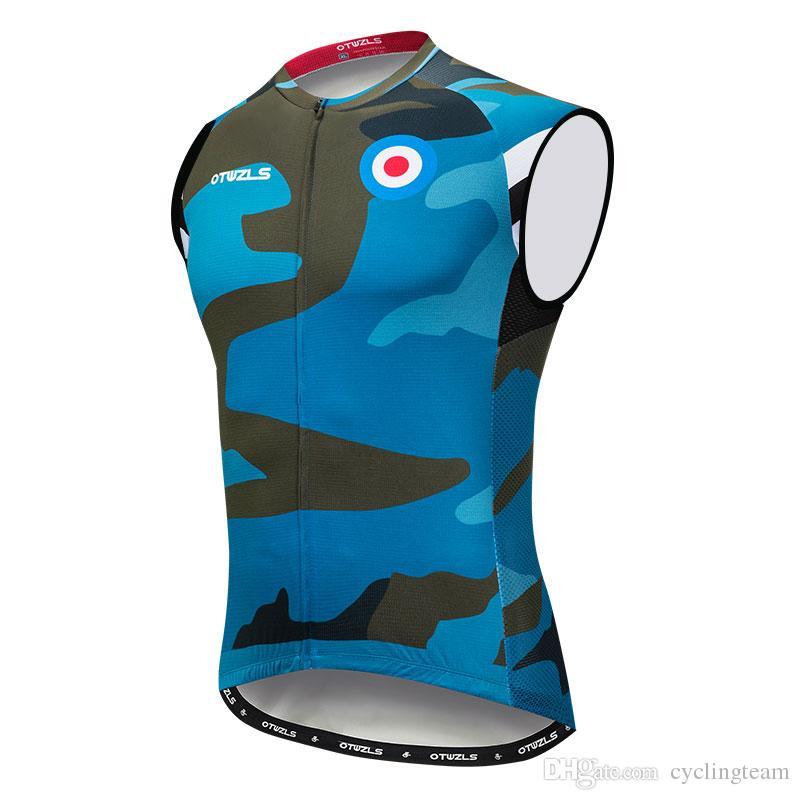 ebf1f504d 2018 Cycling Jersey Vest MTB Bicycle Clothing Bike Jersey Sleeveless ...