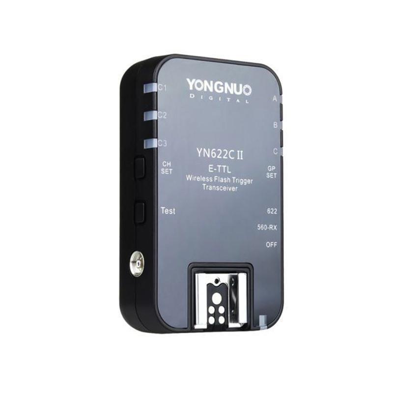 wholesale YN-622C II Wireless E-TTL HSS Flash single Trigger Reciever for  Canon 1100D 1000D 650D 600D 550D 7D 5DII 50D