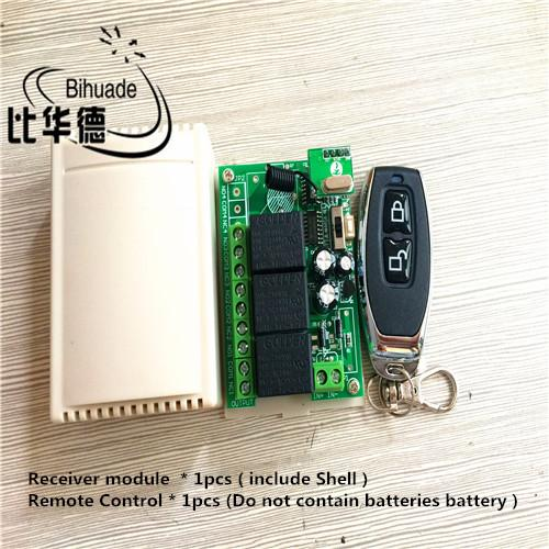 433mhz Transmitter Universal Wireless Remote Control Switch 12v 10a on