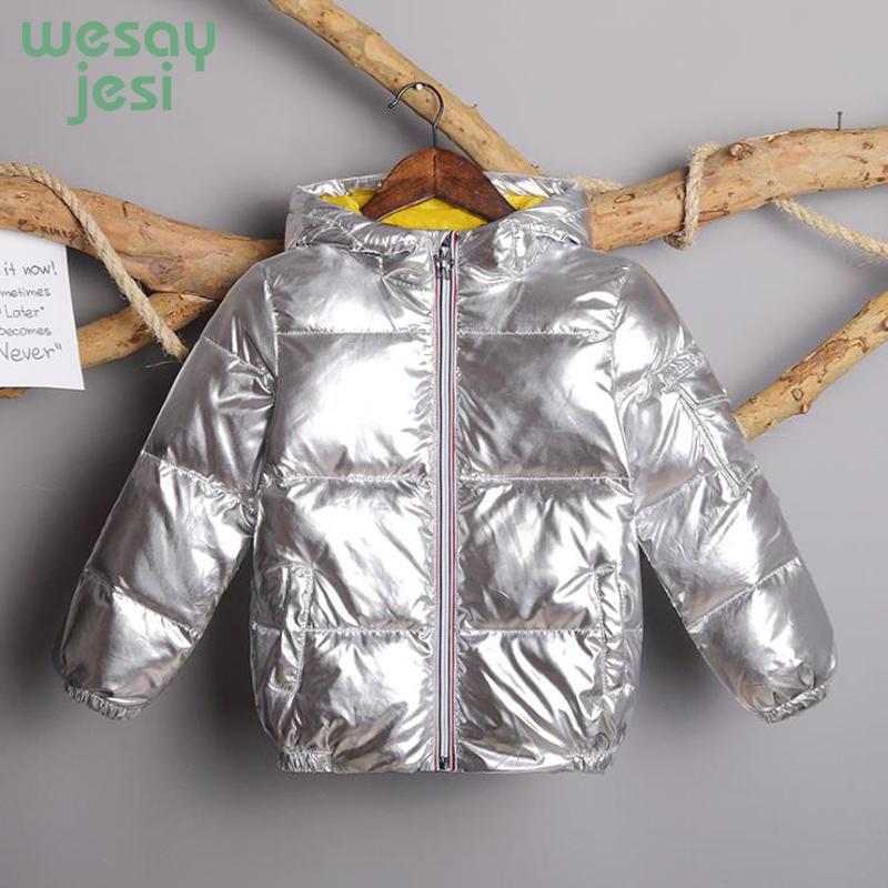 6f965be86 Kids Warm Hooded Down Coat Children 2018 Winter Jacket Girl Quality ...