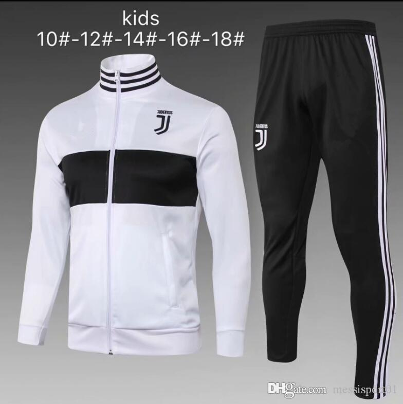 2018 2019 Juventus Chándal Niños RONALDO Juve Fútbol Conjunto 18 19 Juvenil  DYBALA MARCHISIO Chándal Trajes De Fútbol Niños Veste Kit Por Messisporto1 847b8d3aacb2a