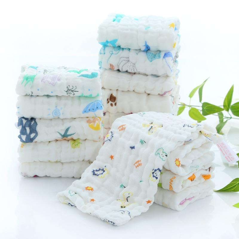 Baby Bathing & Grooming Sporting Natural Muslin Cotton Baby Wipes Soft Newborn Baby Face Towel For Sensitive Skin