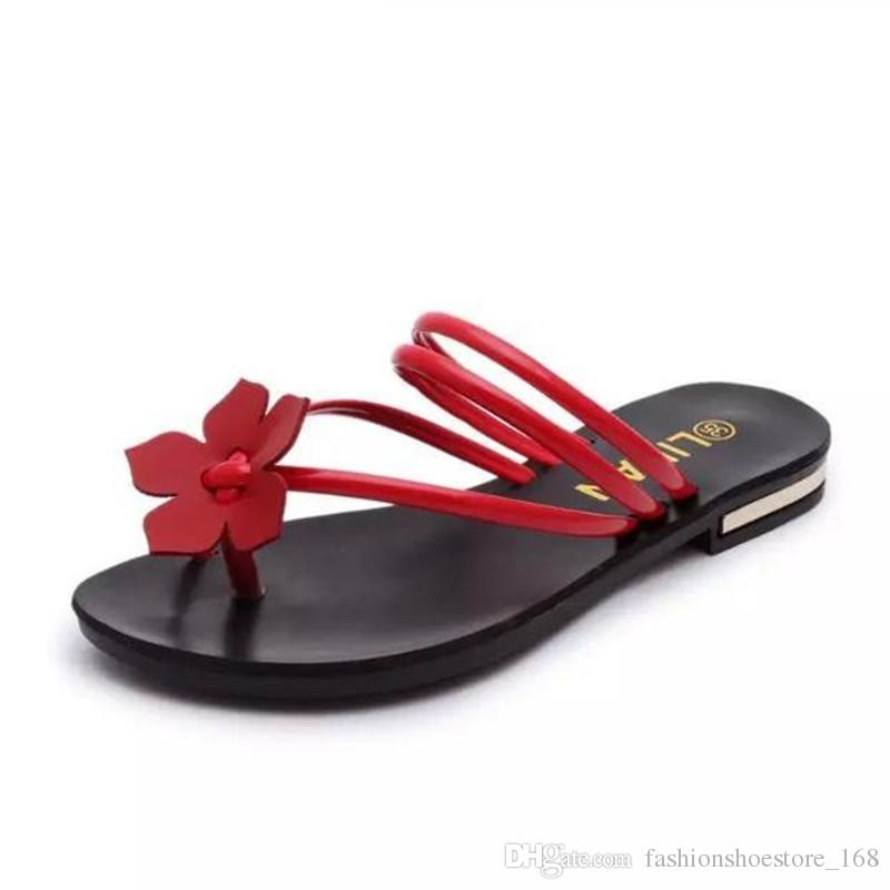 summer shoes sandals mujer 2018 nouveau bohemian peep toe flat