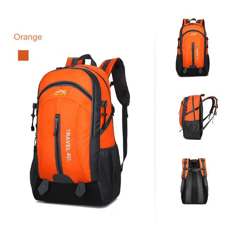 New Outdoor Sport Knapsack Multifunction Backpack Hiking Camping Sport Cycling Bags Men Women's Backpack Trekking Mountaineer Casual Travel