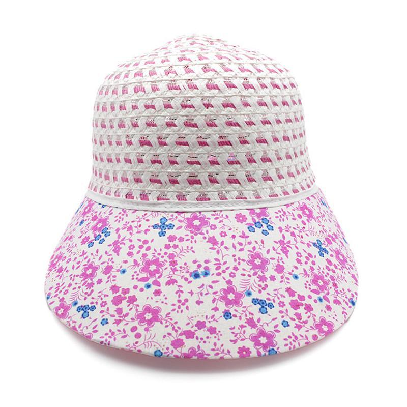 5ad3ba0255a Women Summer Beach Hats Pearl Packable Sun Visor Hat With Big Heads Wide  Brim Beach Bat UV Protection Female Cap UK 2019 From Hongmihoutao