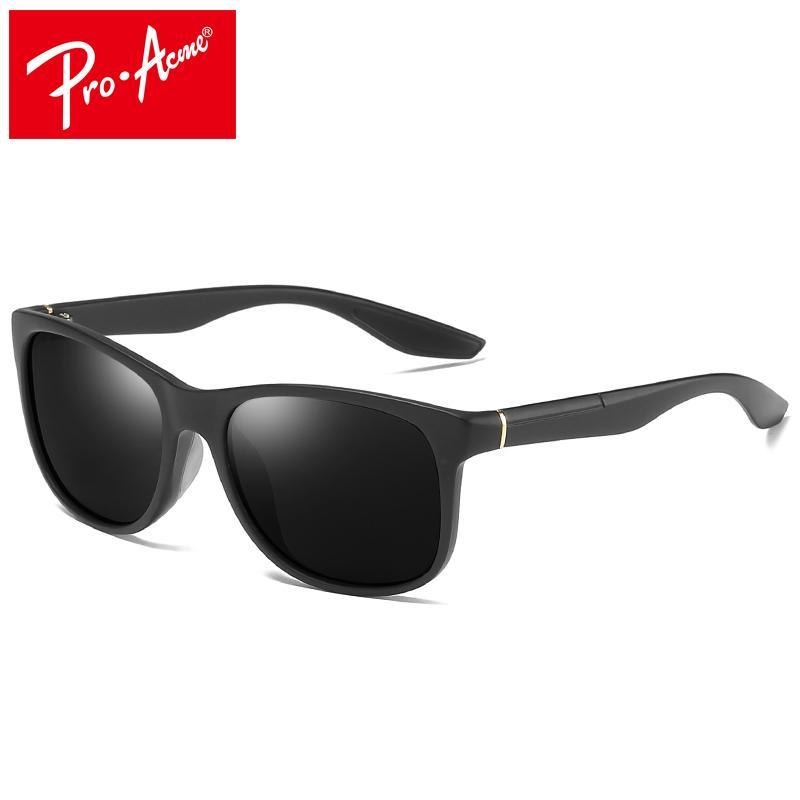 6aef8288277e3 Compre Pro Acme Marca Clássico HD Polarizada Óculos De Sol Das Mulheres Dos  Homens De Condução Óculos De Sol Óculos Masculinos Quadrado Quadro 100%  Proteção ...