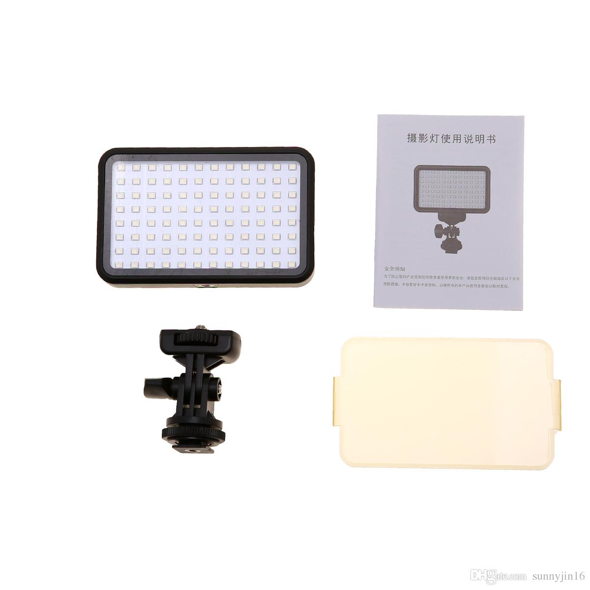 PAD96 LED Video Light 6000K Lampada di riempimento dimmerabile