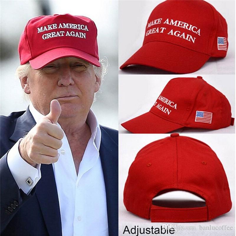 b025e790ab7 Make America Great Again Letter Hat Donald Trump Republican Snapback Sports Hats  Baseball Caps USA Flag Mens Womens Fashion Cap Skull Caps Men Hats From ...
