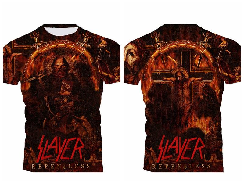 137eaded6eb8e Slayer Repentless Mens T Shirt All Size All Over Top T Shirt Sites Cool T  Shirts For Boys Online From Fjb2571954485