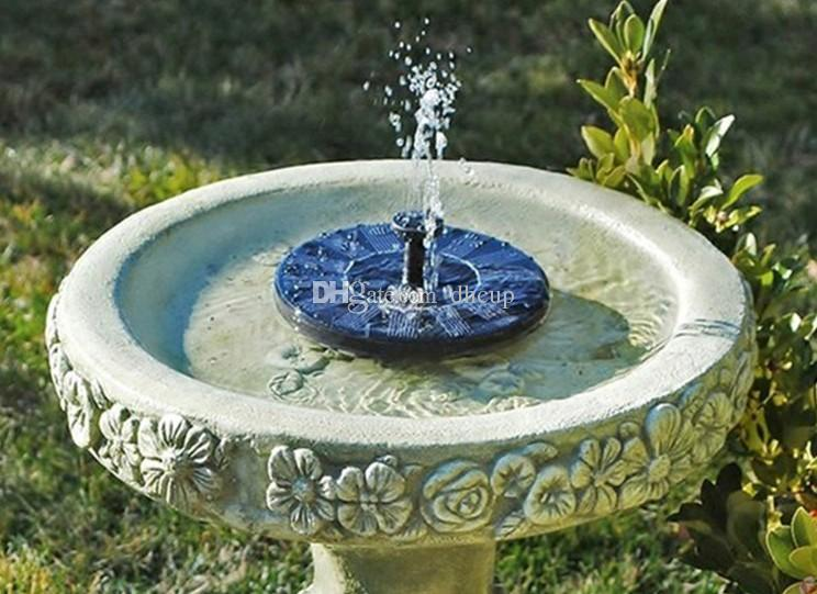 2018 Mini Solar-power Fountain Brushless Water Pump Energy-saving Plants Watering Equipment with Solar Panel for Bird Rest Garden Pond