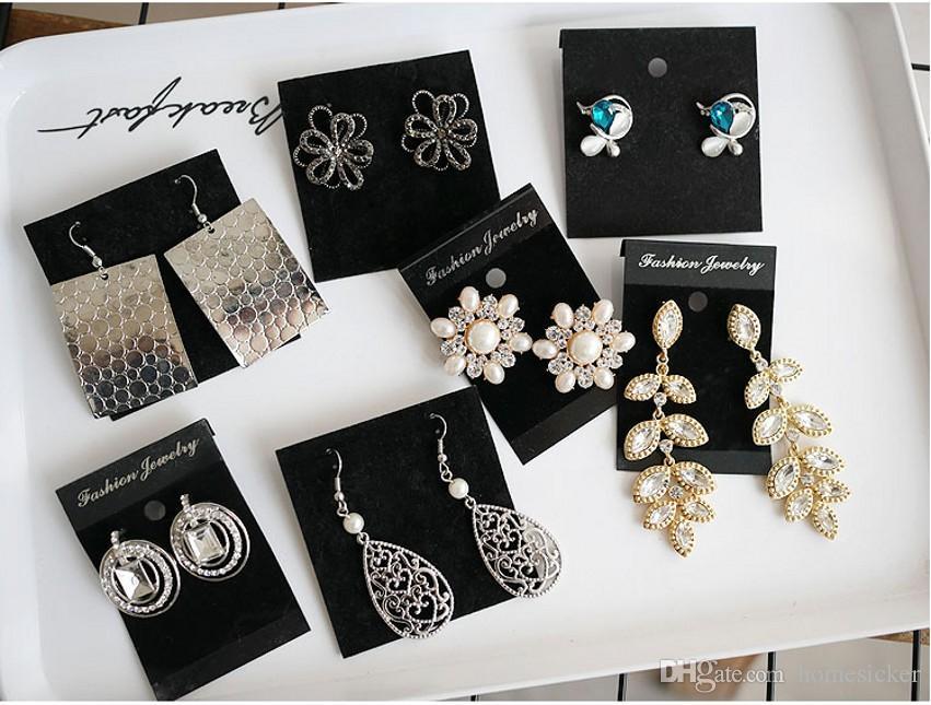 Shamballa Kristal Top Çift Taraflı Damızlık Küpe Büyük Ve Küçük Iki Inci Takı Kadın Moda Küpe çıtçıt