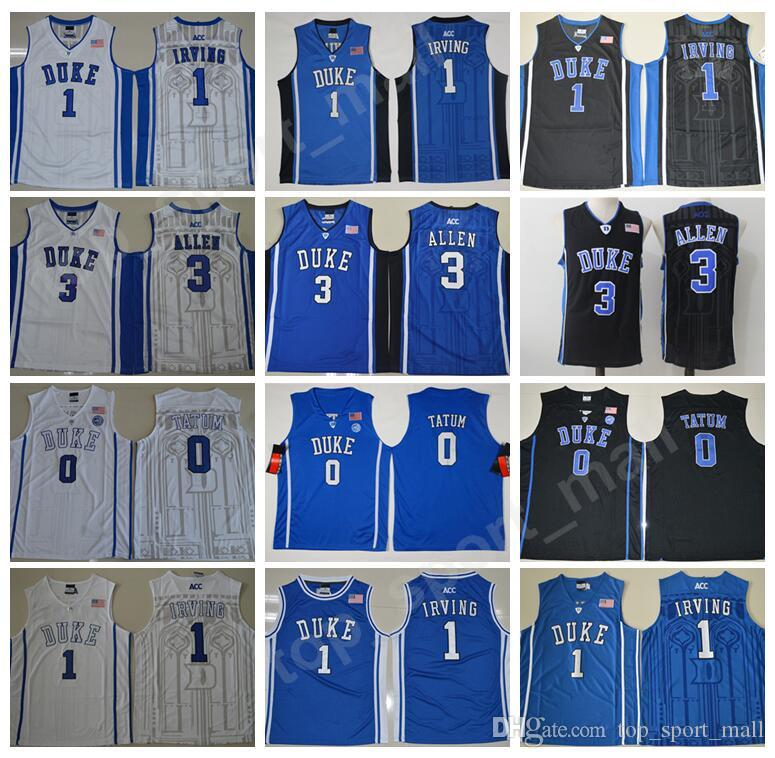 purchase cheap e45ca 5928e kyrie irving black and blue jersey