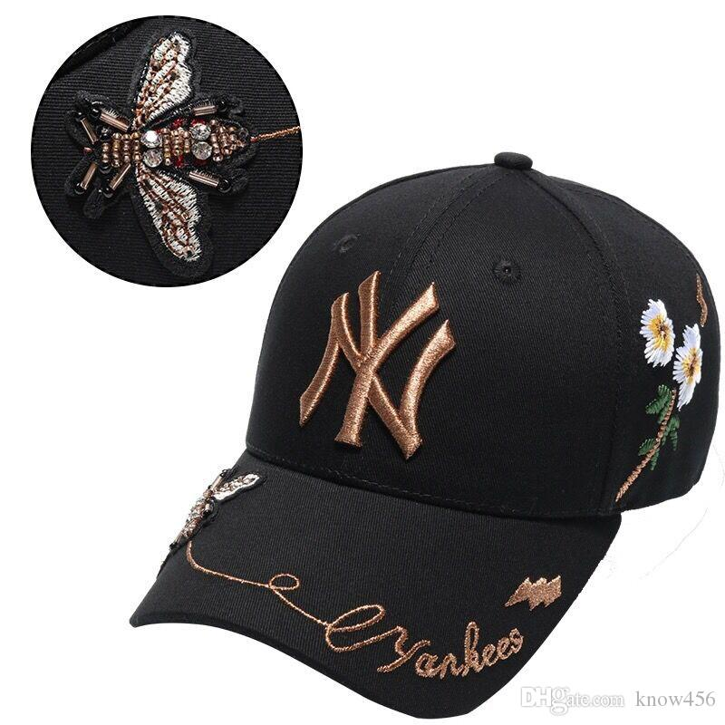 944a89224b9d3 New Baseball Caps.European And American Fashion Brand Bee Duck Cap Spring  Summer Sports Cap Men And Women Neweracap Cap Hat From Know456