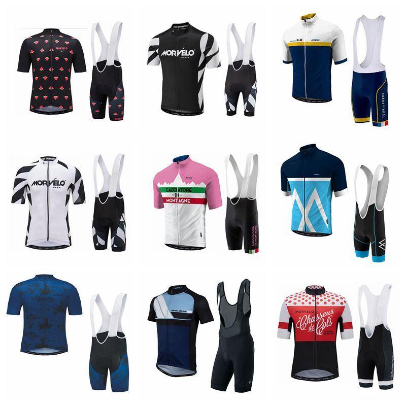 New 2018 Morvelo Pro Team Cycling Jersey Set MTB Short Sleeve Bicycle  Cycling Clothing Bike Bib Shorts Maillot Ciclismo F1105 Womens Cycling  Shorts Mtb ... 8ae94233d