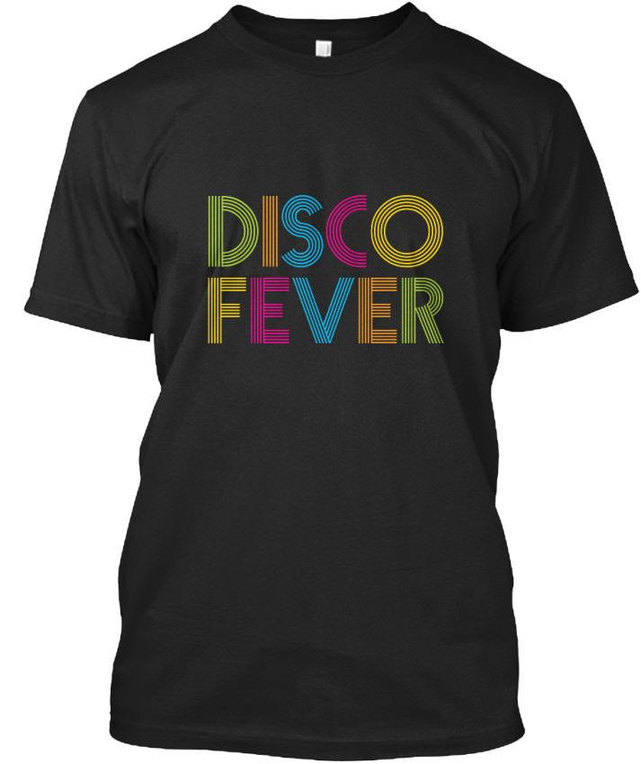 Disco Fever 70s 80s Apparel Standard Unisex T Shirt Personalized T