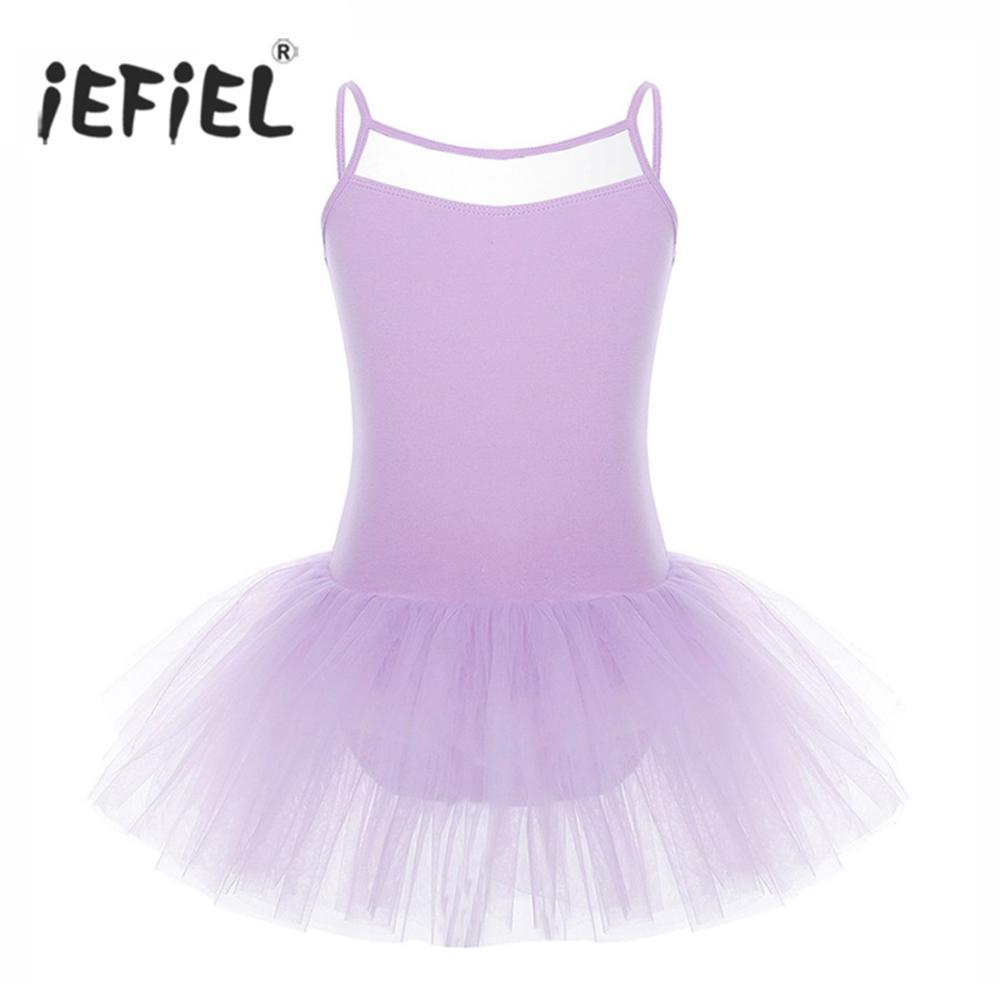 a3ec96078e 2019 Tutu IEFiEL Tutu For Kids Girls Cut Out Back Swimsuit Costumes ...