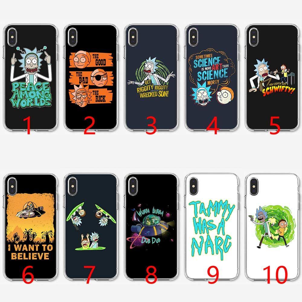 coque iphone 8 plus rick