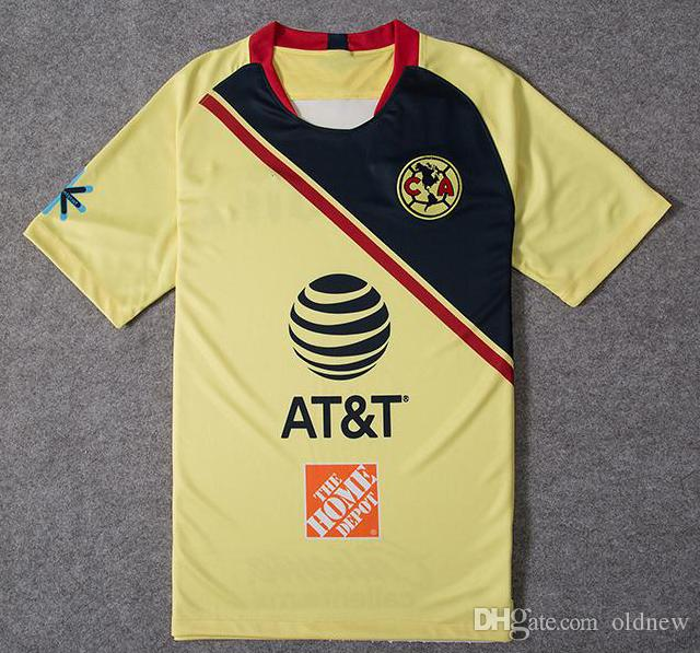 cda6a17dcdf 2019 2018 19MEXICO De Futbol America Home Soccer Jersey Club De Futbol America  Away Soccer Shirt Customized Mexico Club Football Uniform Sales From  Oldnew