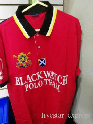 Offer Man Polos US Brand Big Horse Polo Team Cotton Short Sleeve Camisas Polo Shirt Men Black Watch Casual Polos Homme