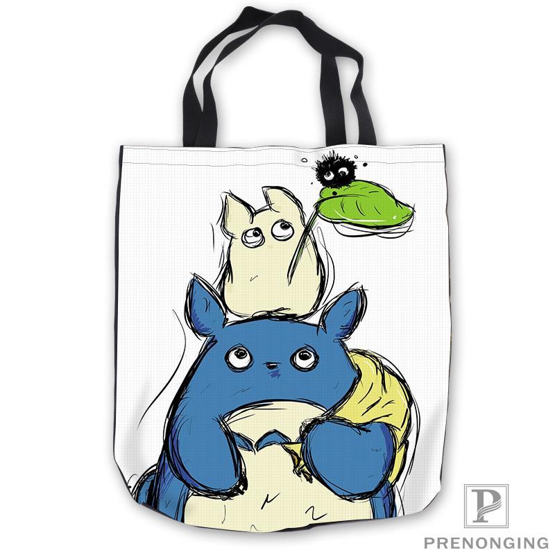 dbe145f93179 Custom Canvas Anime My Neighbor Totoro Tote Shoulder Shopping Bag Casual  Beach HandBag Daily Use Foldable Canvas  180713 03 4 Womens Handbags Toting  From ...