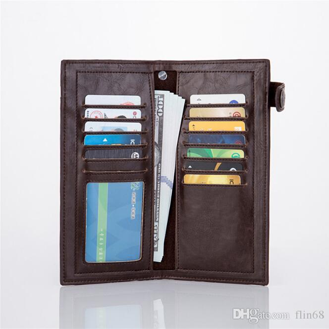 محفظة طويلة خمر الصليب شخصية متعددة الوظائف الشرير المحفظة