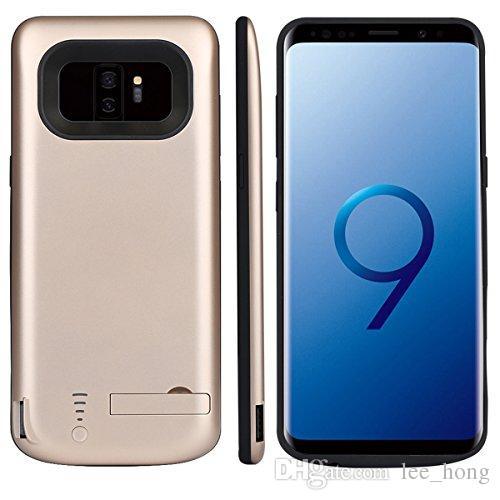 삼성 S9plus 6000mah 브래킷 휴대 전화 삼성 갤럭시 S9 전원 은행 충전기 커버에 대 한 5000mAh 배터리 클립 케이스